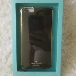 Kate Spade phone case for iphone 5/5s black wrap